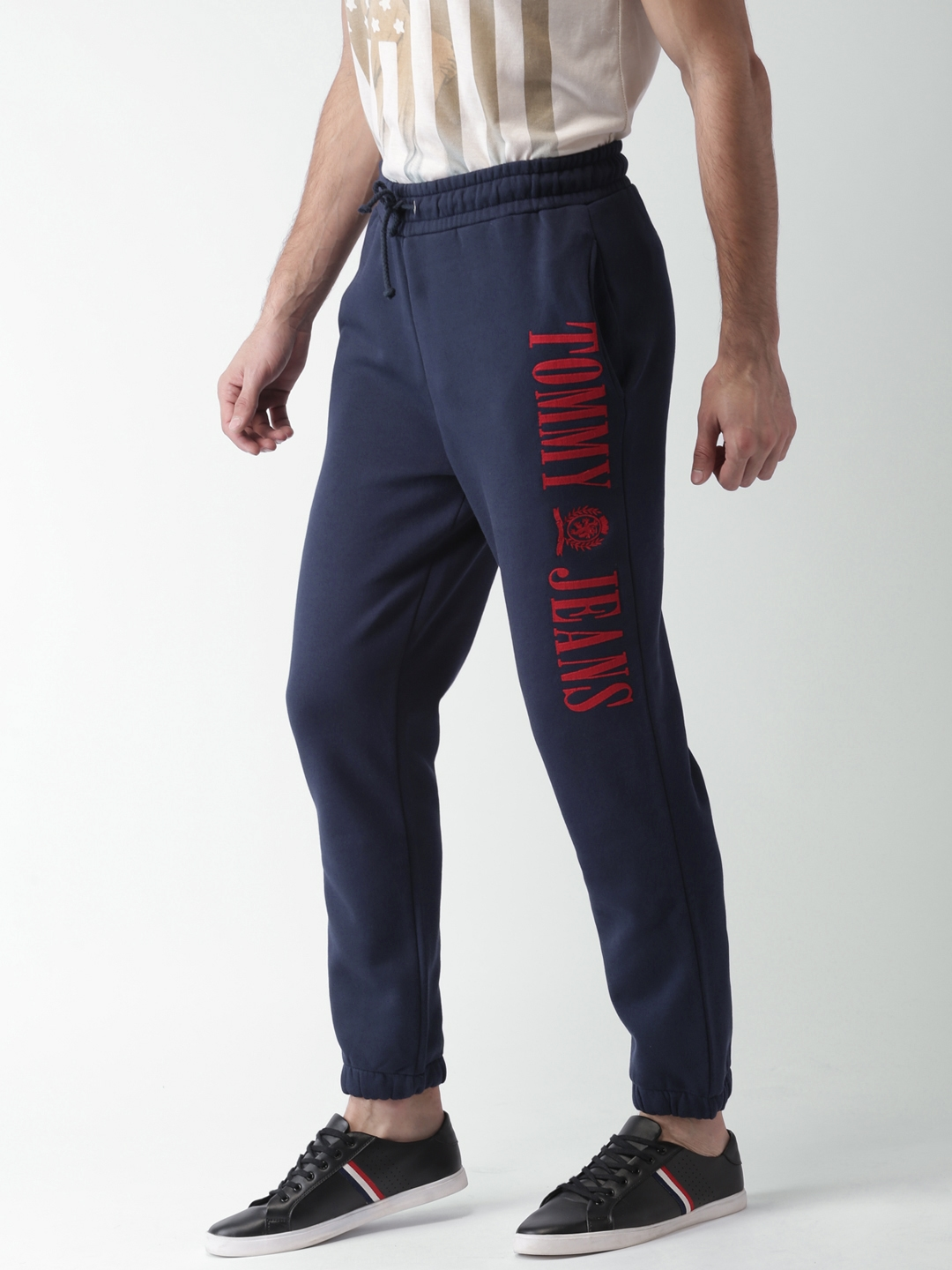 low price sale top design pretty cheap Tommy Hilfiger Navy Sweat Joggers