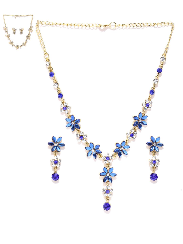 Zaveri Pearls Set of 2 Stone Studded Jewellery Sets