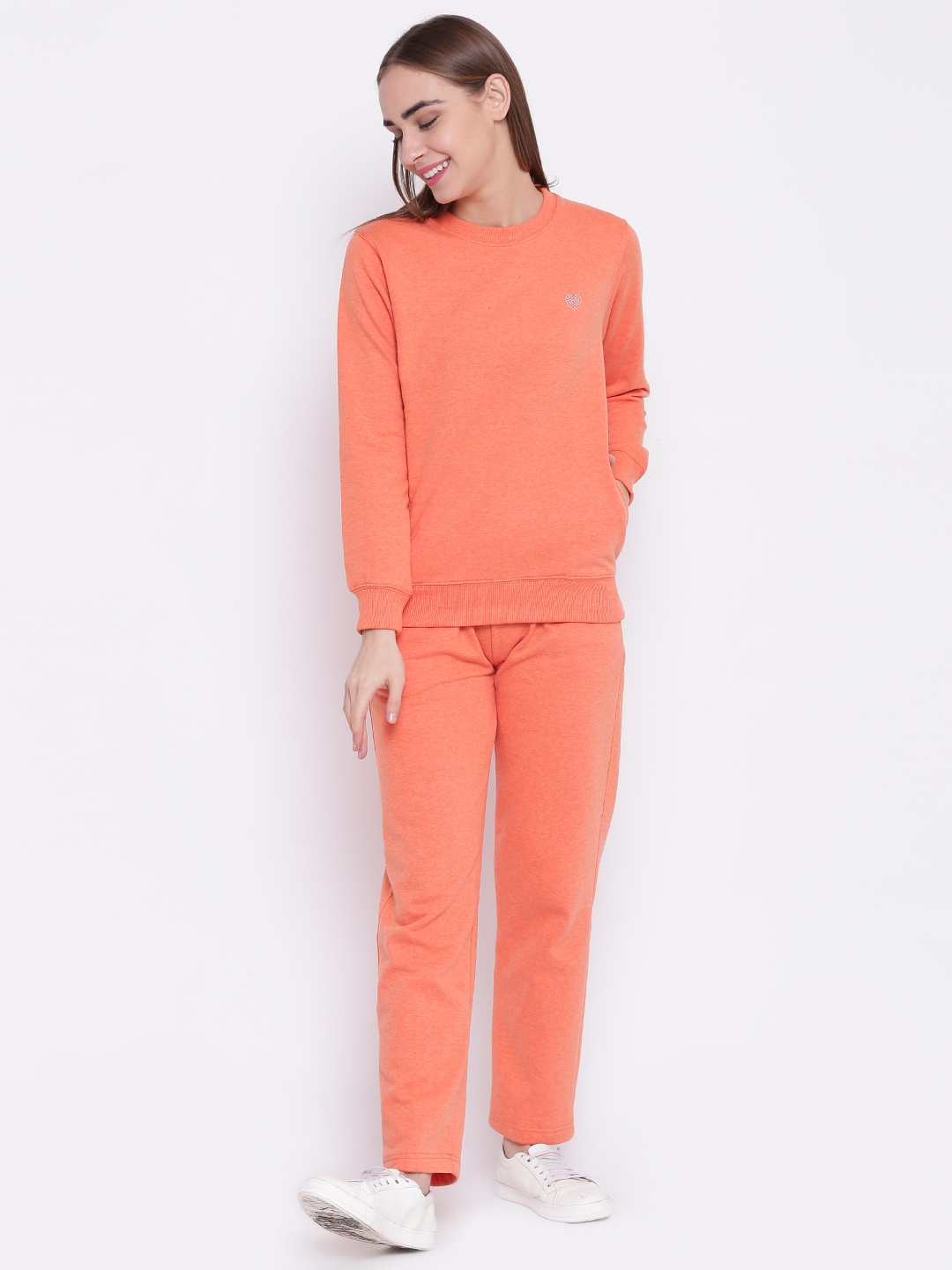 a98647fe3ee Buy Fort Collins Orange Tracksuit - Tracksuits for Women 2181758 ...