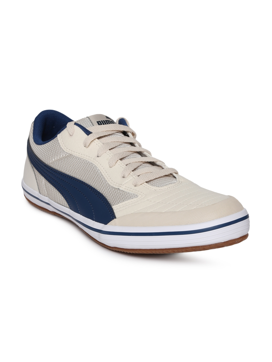 Buy Puma Unisex Beige Astro Sala Sneakers - Casual Shoes for Unisex ... a4f7eb4bf359