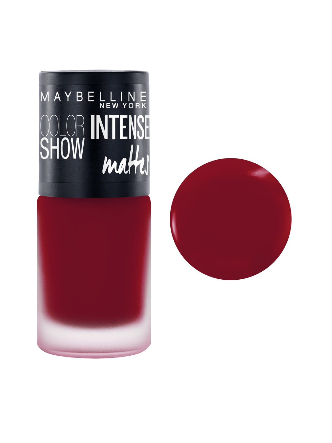 e3e236f0c2b Maybelline New York Color Show Magnetic Maroon Intense Matte Nail Paint M216