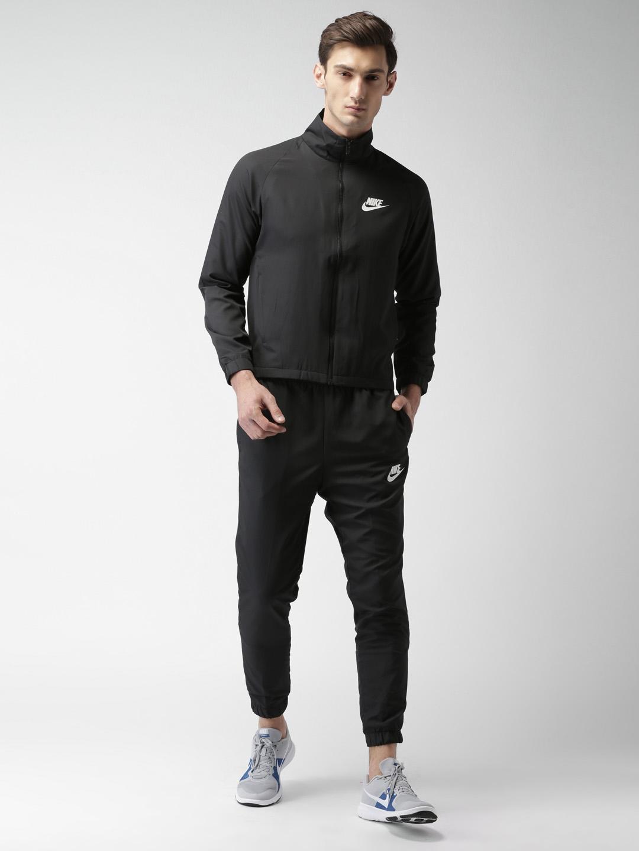 3f3b62c781 Buy Nike Men Black AS M NSW Tracksuit - Tracksuits for Men 2187738 ...