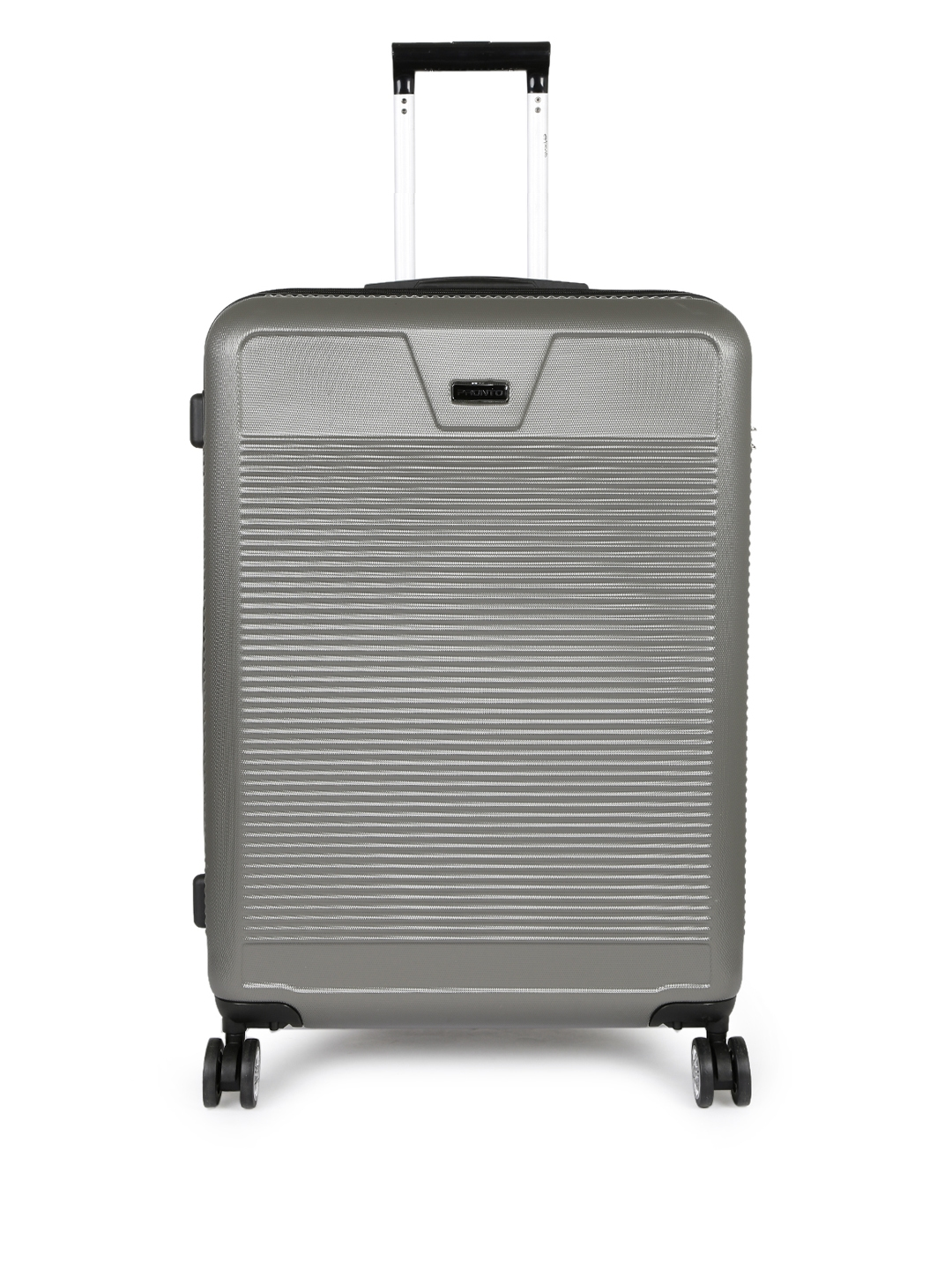 Pronto Unisex Grey VECTRA PLUS 4 W Large Spinner 78 Trolley Suitcase