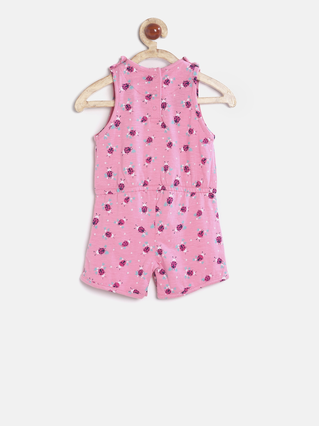 b452153b06a Buy Mothercare Pink Printed Playsuit - Jumpsuit for Girls 2189710 ...
