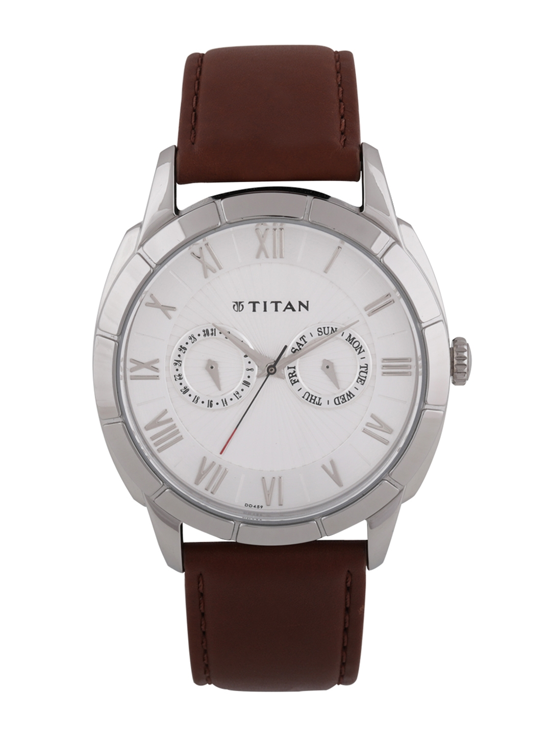 Titan Smartsteel Men White Analogue watch NL1489SL02