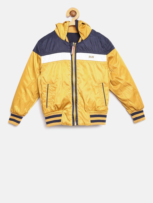 76d23cb73 Buy U.S. Polo Assn. Kids Boys Navy   Mustard Yellow Reversible ...