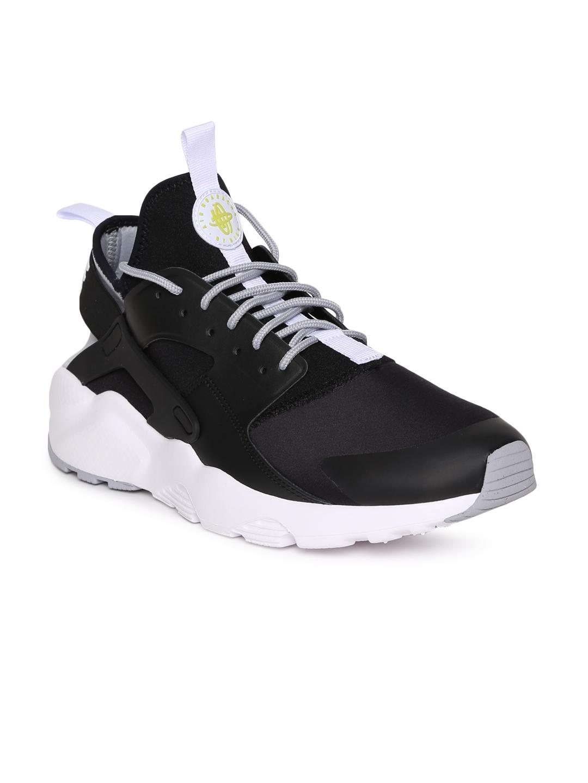 Buy Nike Men Black AIR HUARACHE RUN ULTRA Sneakers - Casual Shoes ... 090a0ad0e88