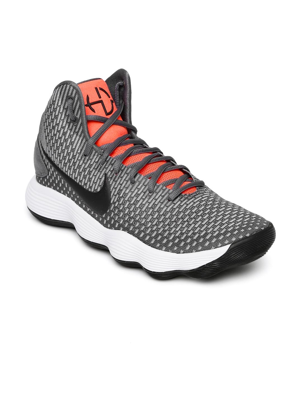 d7366fbd47ad Buy Nike Men Grey Mid Top HYPERDUNK 2017 Basketball Shoes - Sports ...