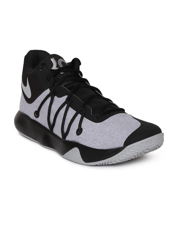 2617ce776726 Buy Nike Men Grey   Black KD TREY 5 V Basketball Shoes - Sports ...