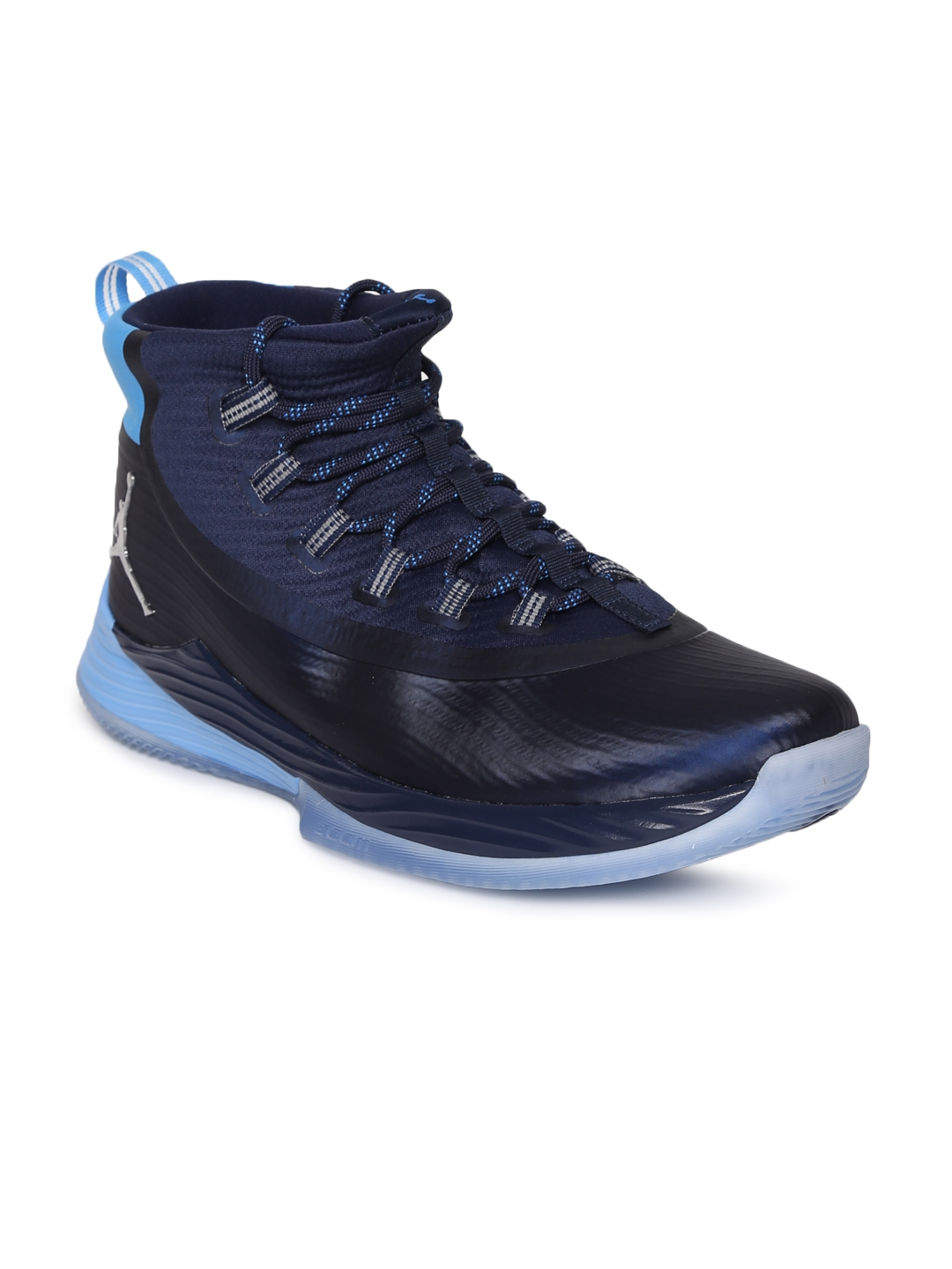 a26fc20a364ff8 Buy Nike Men Blue Textile Mid Top JORDAN ULTRA FLY 2 Basketball ...