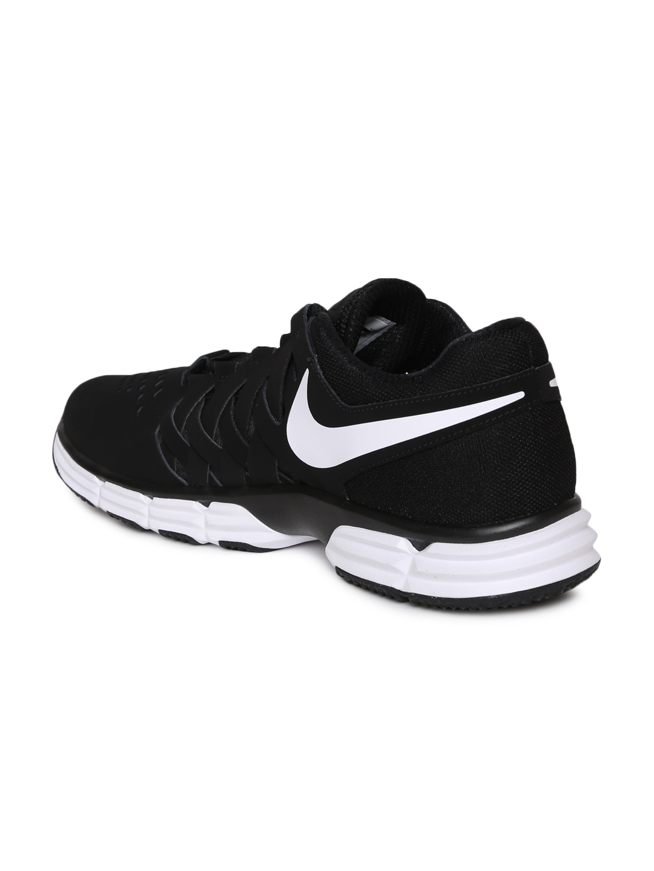 size 40 ba76e a71e9 Nike Men Black LUNAR FINGERTRAP TR Training Shoes