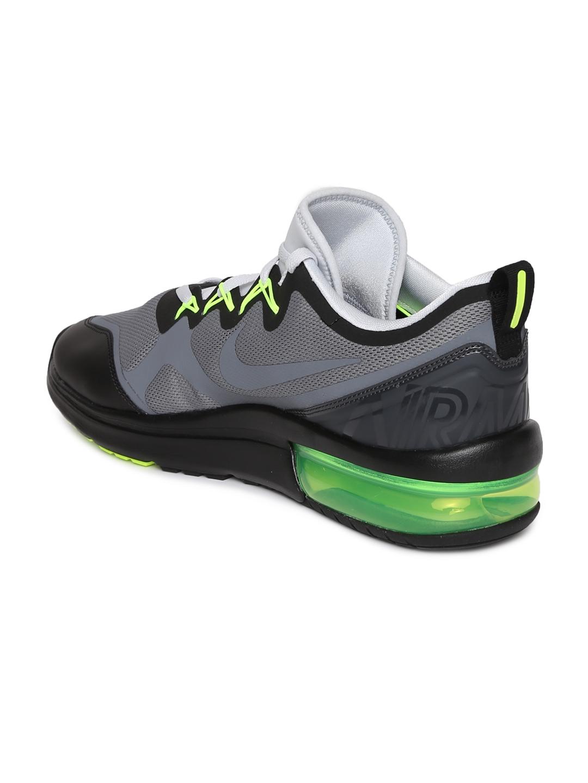 4fe2d4bd6b0 Buy Nike Men Grey   Black AIR MAX FURY Running Shoes - Sports Shoes ...