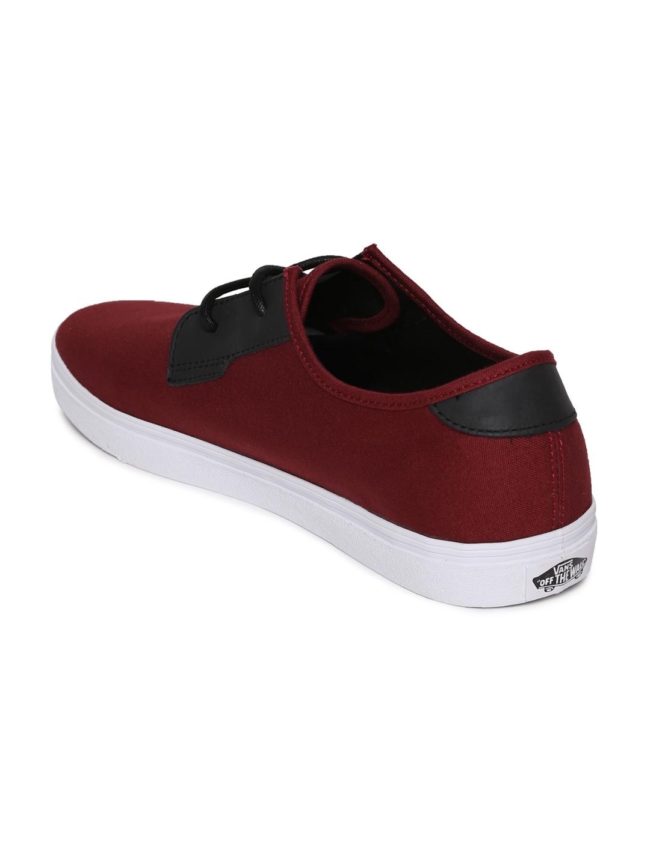 532386bd9617fd Buy Vans Men Maroon Sneakers - Casual Shoes for Men 2194878