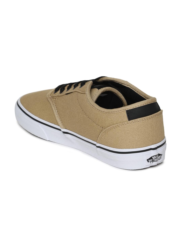 7757ace4e2adf4 Buy Vans Men Beige Atwood Deluxe Sneakers - Casual Shoes for Men ...