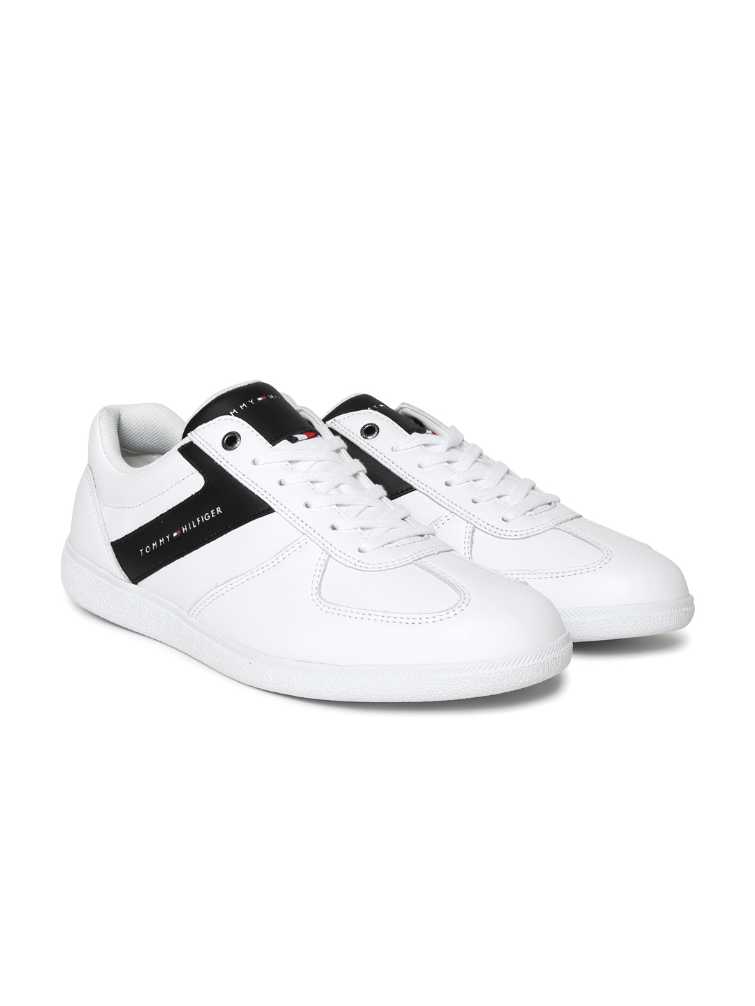 8c489f3a0a5f43 Buy Tommy Hilfiger Men White Sneakers - Casual Shoes for Men 2197190 ...