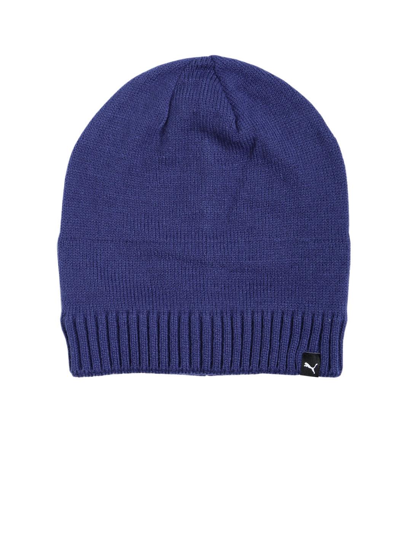 48512e75592 Buy Puma Unisex Blue ACTIVE Slouchy Beanie - Hat for Unisex 2197381 ...