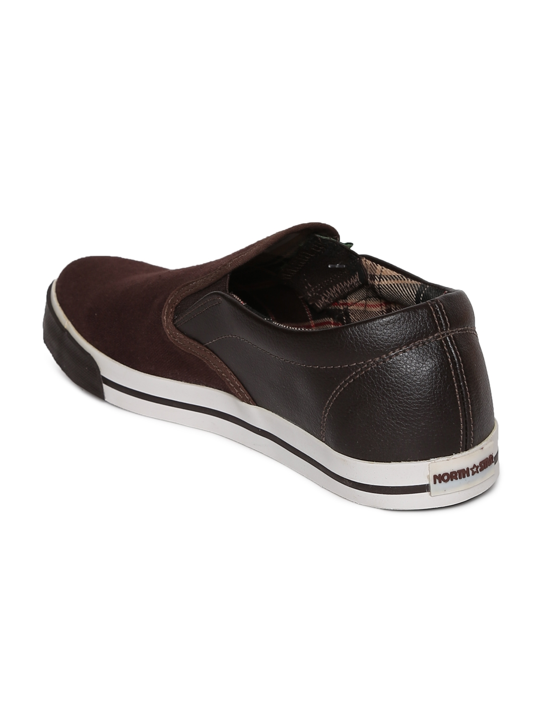 11d081a357c8c0 Buy North Star Men Brown Slip On Sneakers - Casual Shoes for Men ...