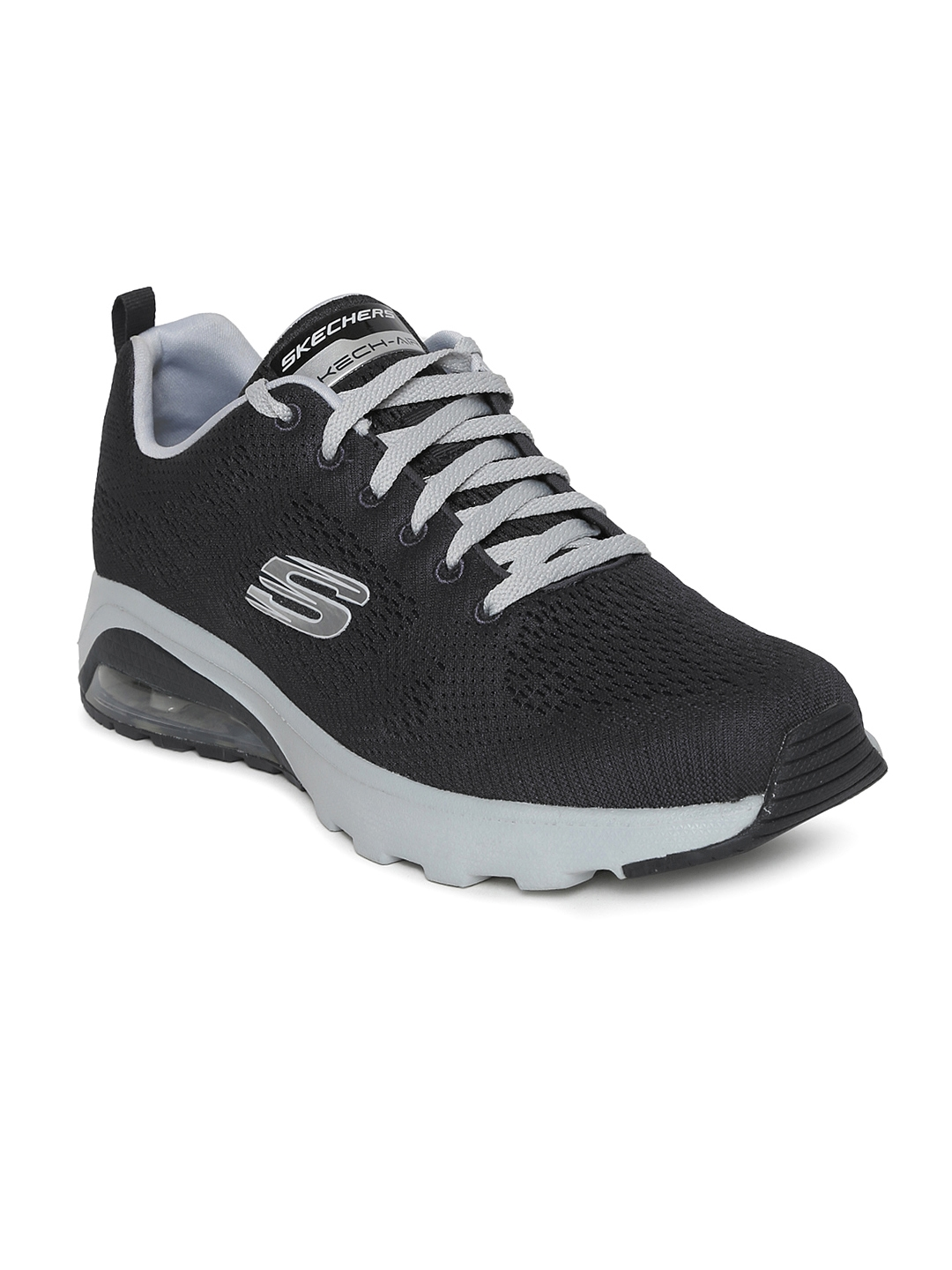 948a178a7919 Buy Skechers Men Charcoal Grey SKECH AIR EXTREME NATSON Casual Shoes ...
