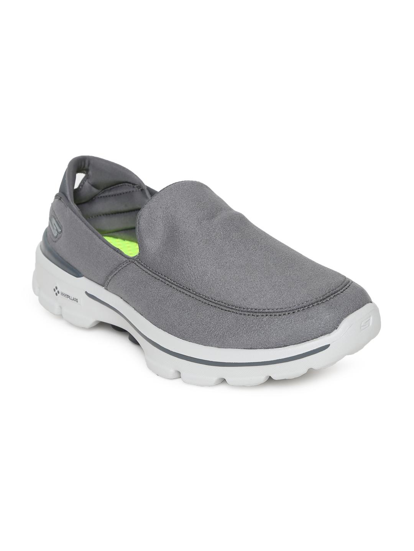 5008943d5f63 Buy Skechers Men Grey GO WALK 3 LT Walking Shoes - Sports Shoes for ...
