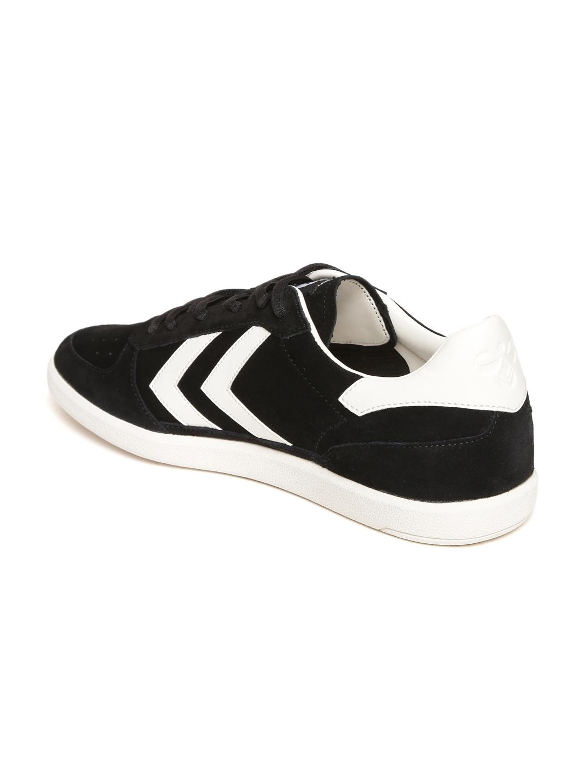 ee40fe893de7 Buy Hummel Unisex Black Victory Suede Sneakers - Casual Shoes for ...