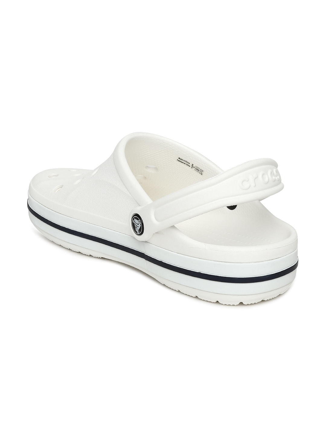 69ef5360b883 Buy Crocs Unisex White Bayaband Clogs - Flip Flops for Unisex ...
