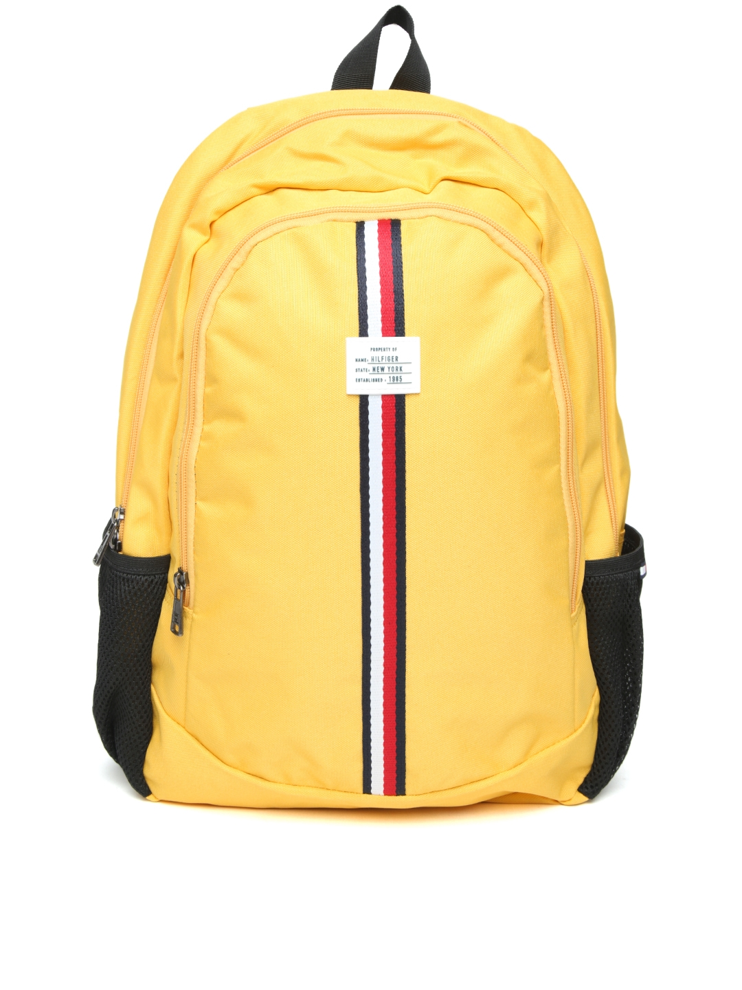 f0e4c3516295 Tommy Hilfiger Unisex Yellow Laptop Backpack