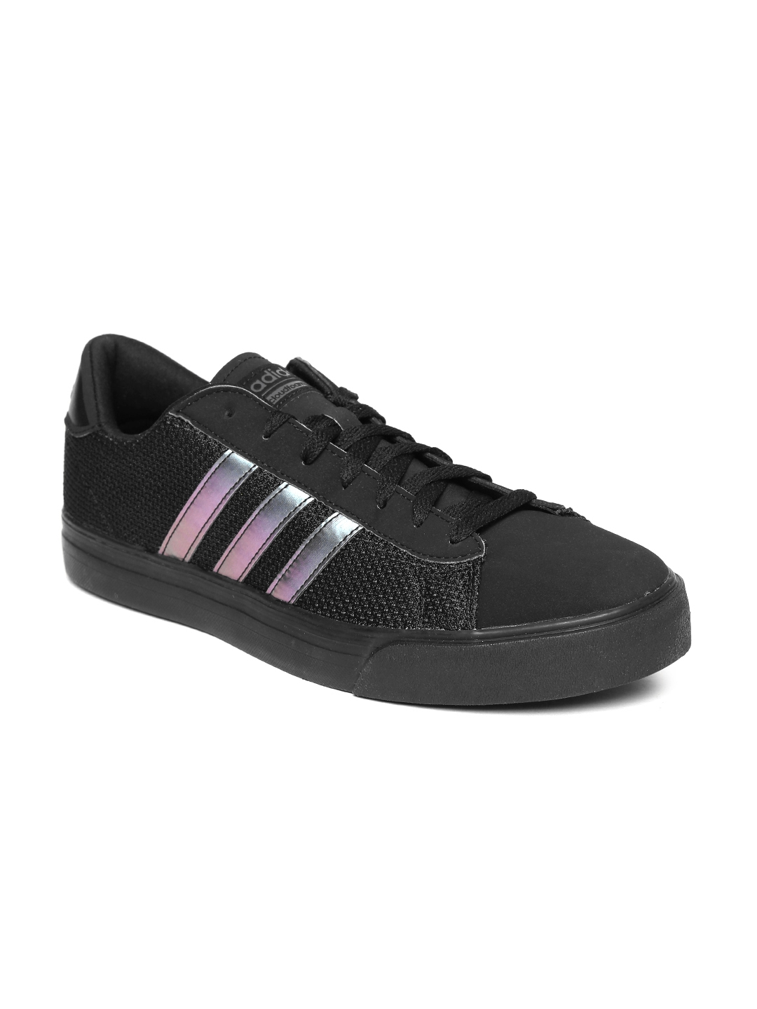check out cf587 37ae9 ADIDAS NEO Men Black CF Super Daily Sneakers