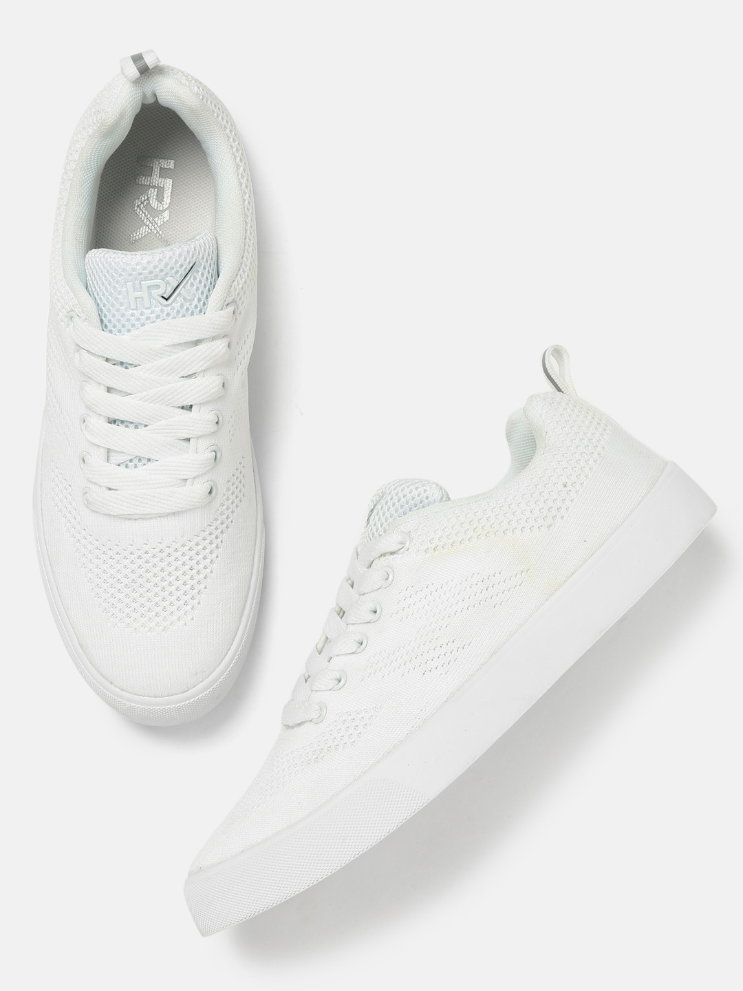 ee8559e9a Buy HRX By Hrithik Roshan Men White Fly Sneakers - Casual Shoes for ...