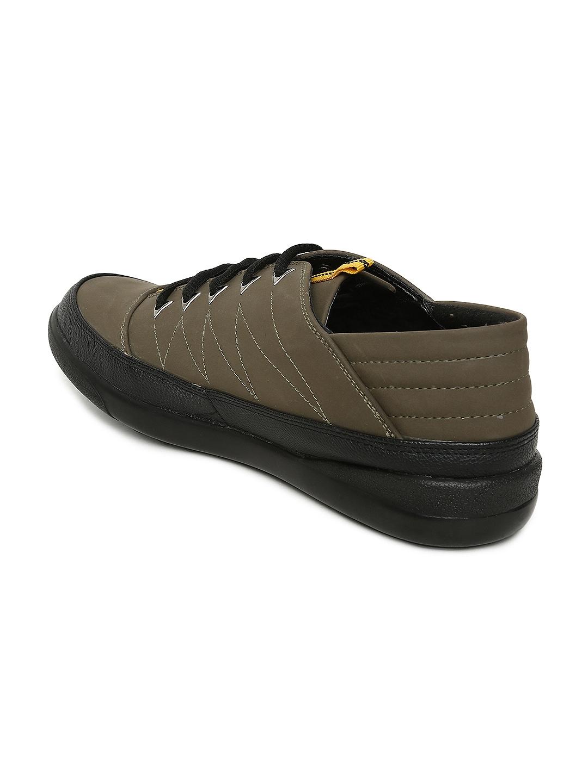 a80b0a3136 Buy Bata Men Olive Green FERNANDO Sneakers - Casual Shoes for Men ...