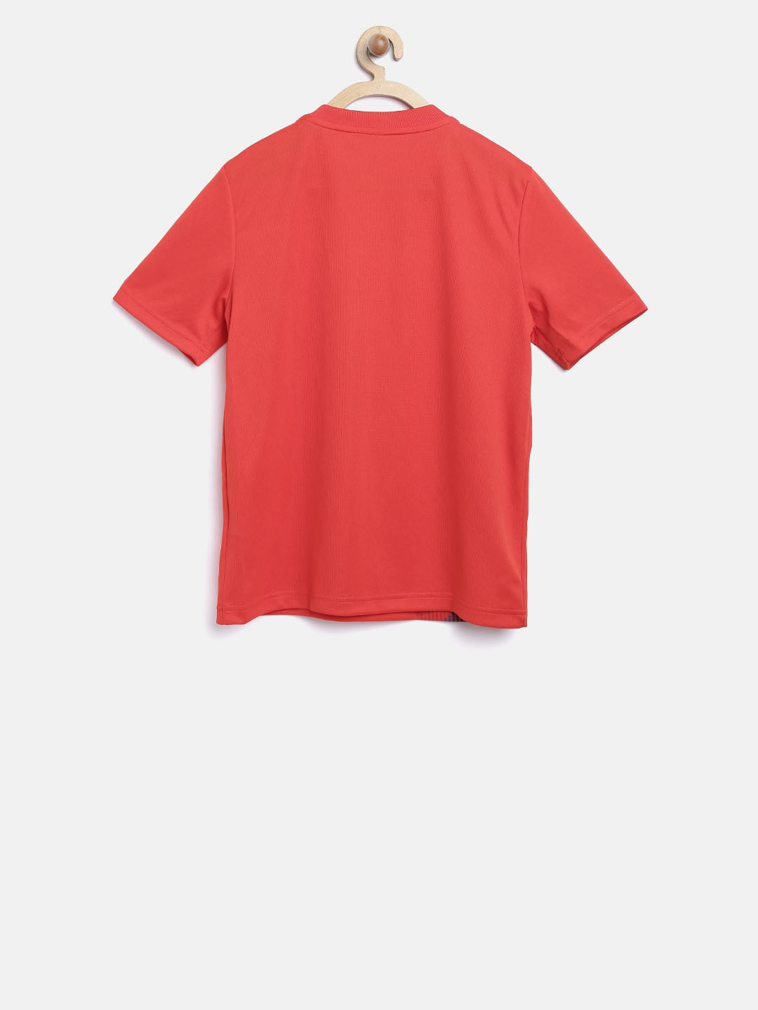 Buy Adidas Boys Red Football Spain Home Jersey Printed Round Neck T ... 4093dca00