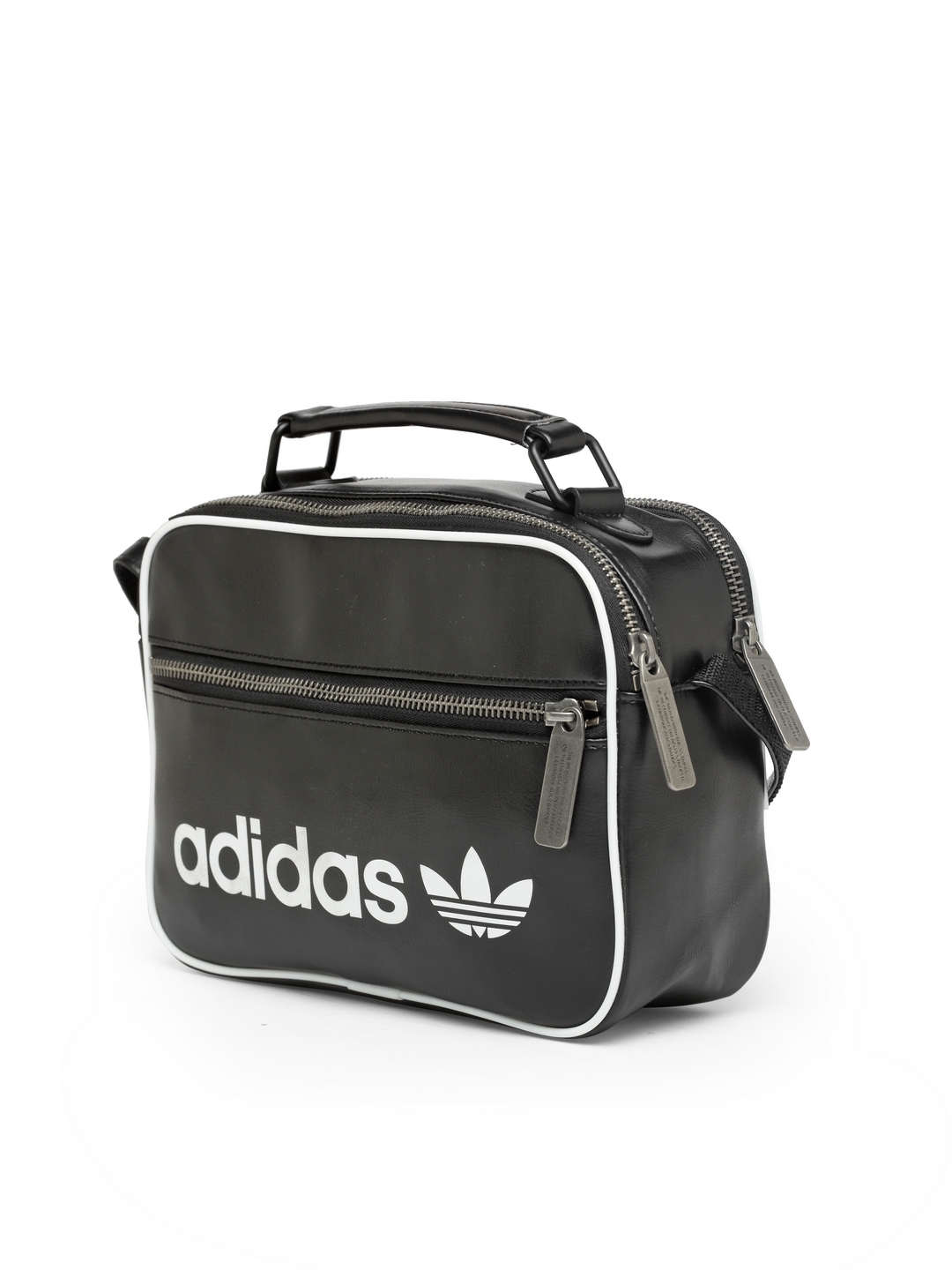 719a48e080 Buy ADIDAS Originals Unisex Black Mini AIRL VINT Printed Messenger ...