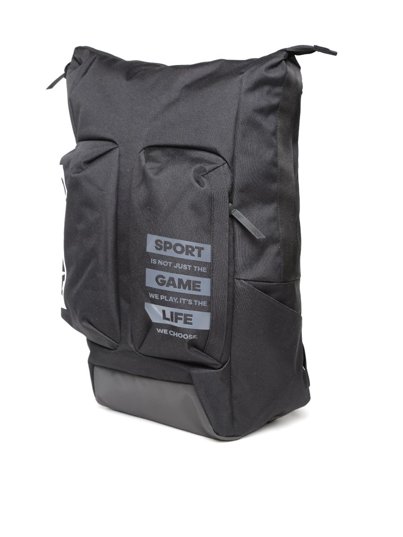 c6e7886ab4f Buy ADIDAS Men Black Athletic ID CCS Brand Logo Backpack - Backpacks ...