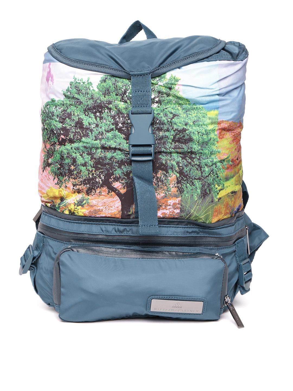 Buy Adidas Women Blue Graphic Backpack - Backpacks for Women 2236567 ... c7b9476575e4f