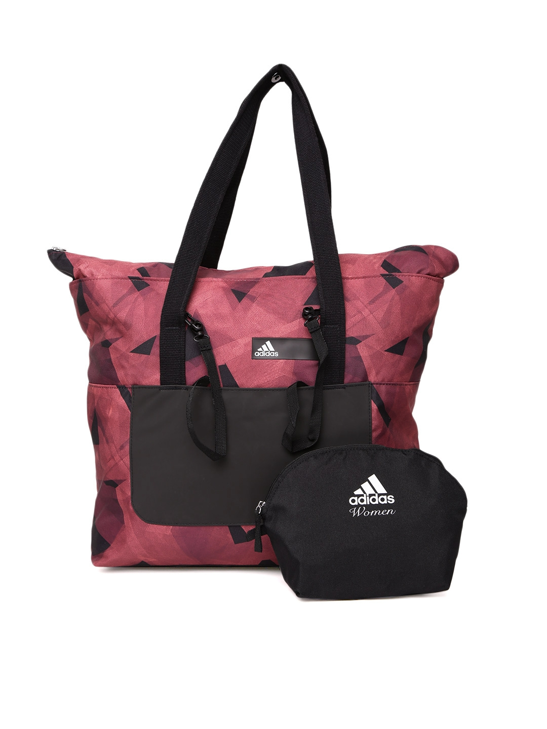 3164219911 Buy ADIDAS Red   Black Better Graphic Printed Shoulder Bag With Pouch -  Handbags for Women 2236589