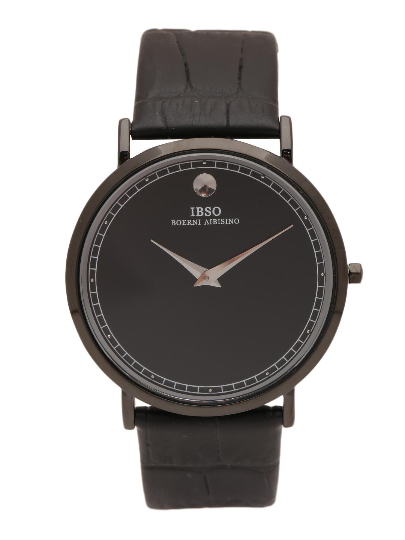 IBSO Men Black Analogue Watch B2220 GBK