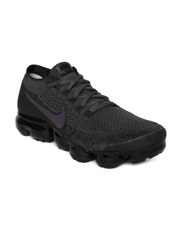 d3b39571f3a7 Buy Nike Women Charcoal Grey Air Vapormax Flyknit Running Shoes ...