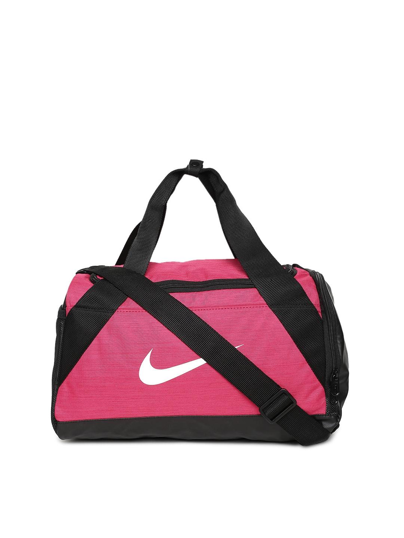 ef95389f6409 Buy Nike Unisex Pink   Black NK BRSLA XS Duffel Bag - Duffel Bag for ...