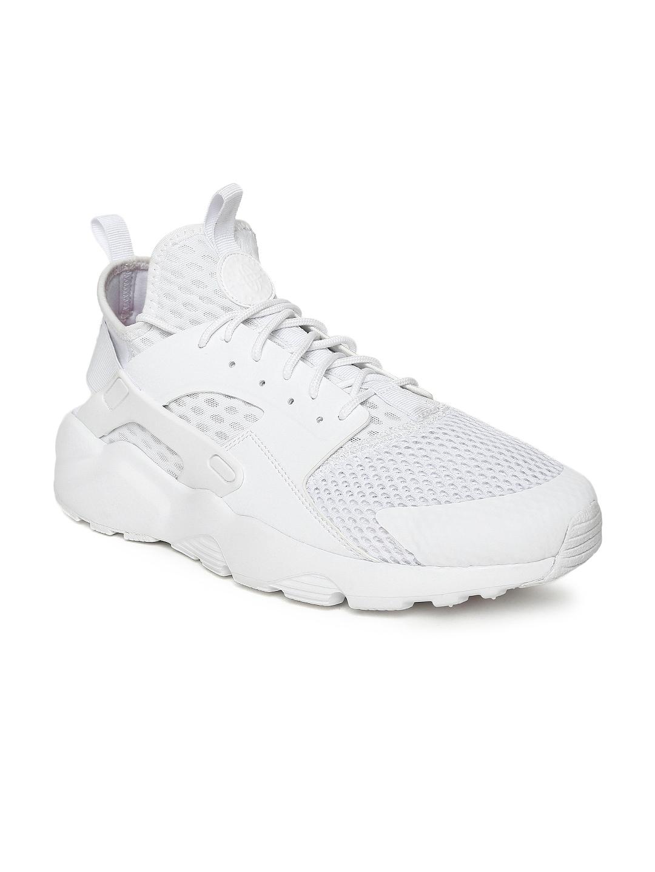 Buy Nike Men White Air Huarache Run Sneakers - Casual Shoes for Men ... 268c77f3e13
