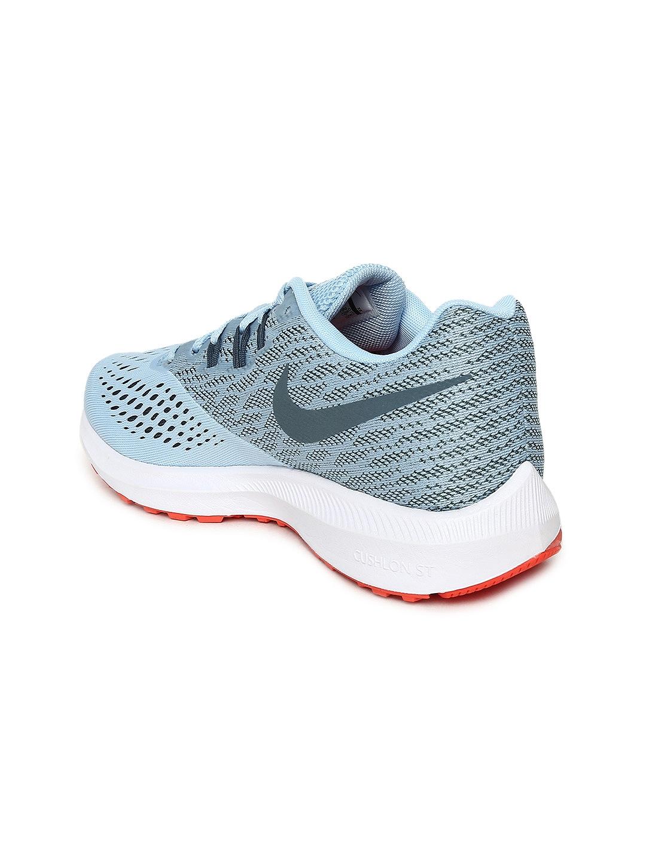 more photos ff13f a8bdb Nike Women Blue Nike Zoom Winflo 4 Running Shoes