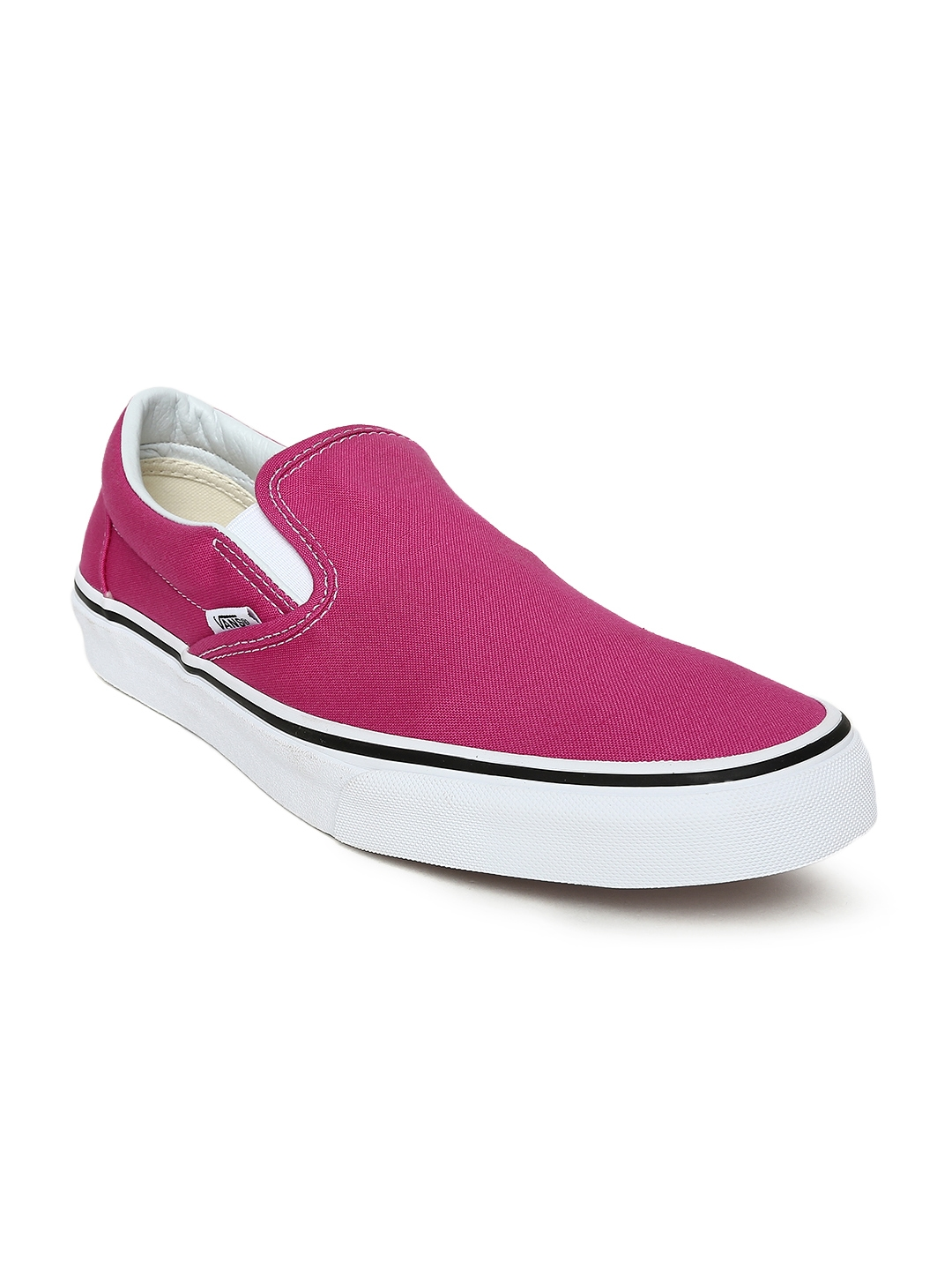 Buy Vans Unisex Pink Classic Slip On Sneakers - Casual Shoes for ... 885ef6d65