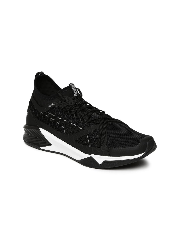 9b33acf4ad86fa Buy Puma Women Black IGNITE XT NETFIT Training Shoes - Sports Shoes ...