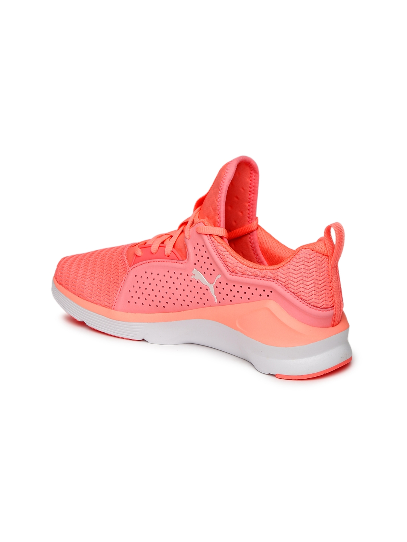 76477401618 Buy Puma Women Peach Coloured Fierce Lace Core Training Shoes ...
