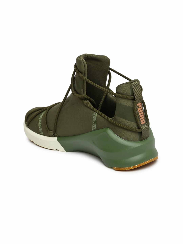 41237b114d3 Buy Puma Women Olive Green Fierce Rope VR Training Shoes - Sports ...