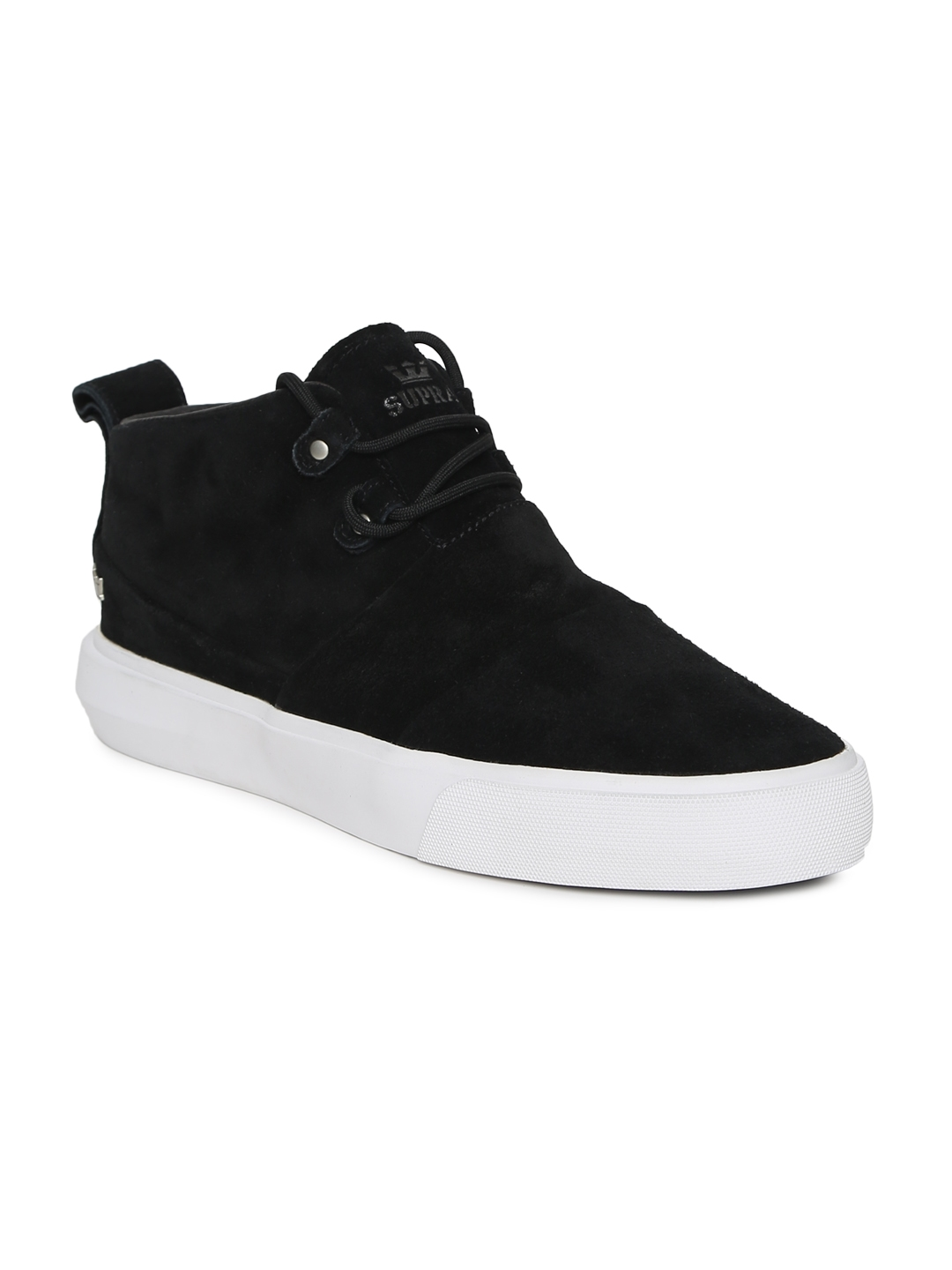 19a5bf7134 Buy Supra Men Black CHARLES Suede Sneakers - Casual Shoes for Men ...