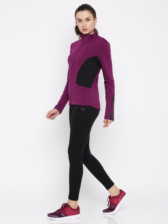 840b5b2d6b67 Buy Puma Men Purple   Black Graphic Legging Tracksuit - Tracksuits for  Women 2252259