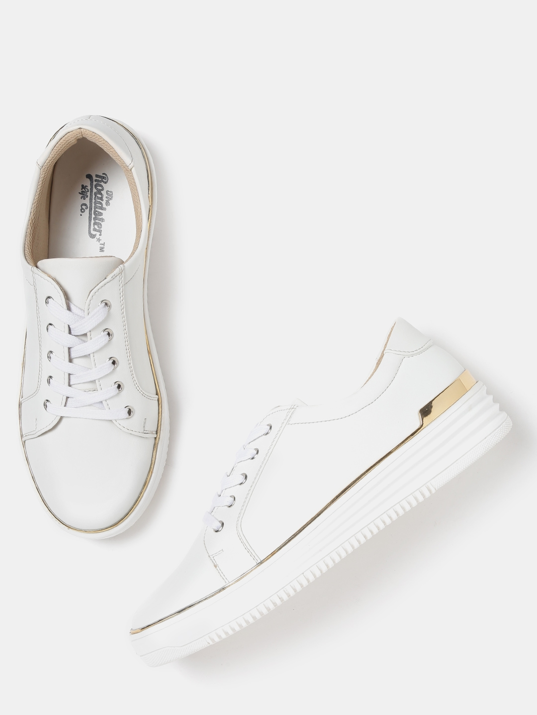 080129ac77 Buy Roadster Women White Sneakers - Casual Shoes for Women 2252546 ...