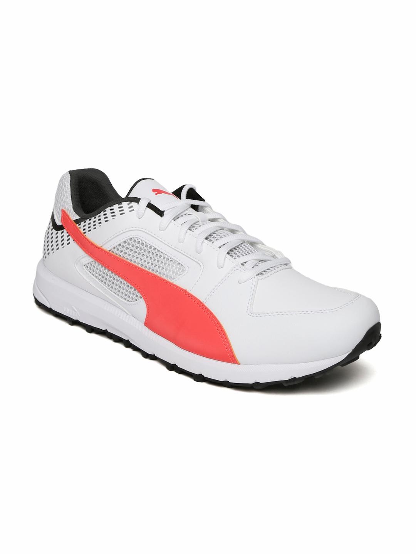07bcfb38039cc5 Buy Puma Men White Team Rubber Cricket Shoes - Sports Shoes for Men ...