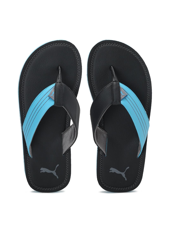 e98b17e663a9 Buy Puma Men Black   Blue Ketava Duo IDP Flip Flops - Flip Flops for ...