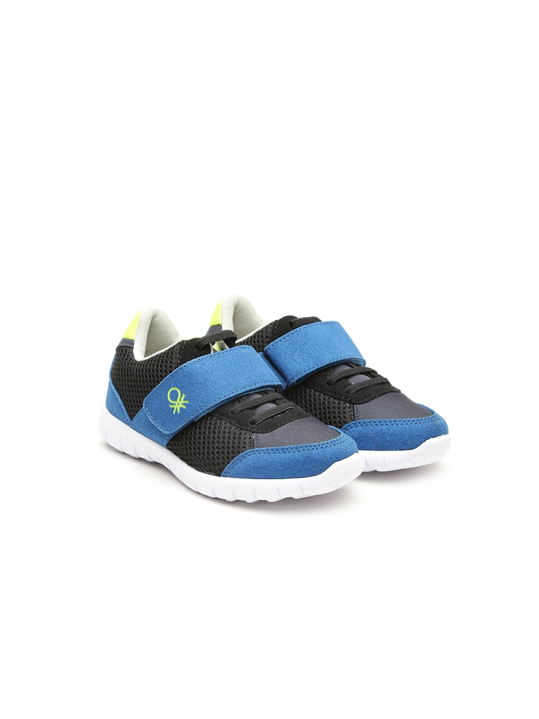 d69399d1b269 Buy United Colors Of Benetton Boys Black   Blue Sneakers - Casual ...