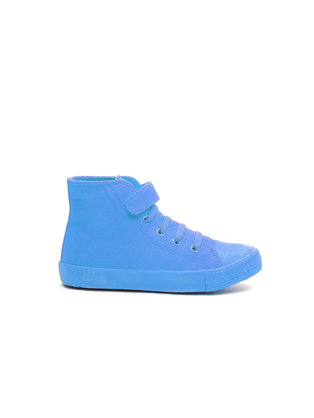 0f008ec60f35 Buy United Colors Of Benetton Boys Blue Solid Sneakers - Casual ...